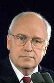 Republican Vice Presidential candidate Dick Cheney holds a press conference to announce the opening of a Bush - Cheney transition office in the Washington Metro Area in November 29, 2000.<br /> Credit: Ron Sachs / CNP