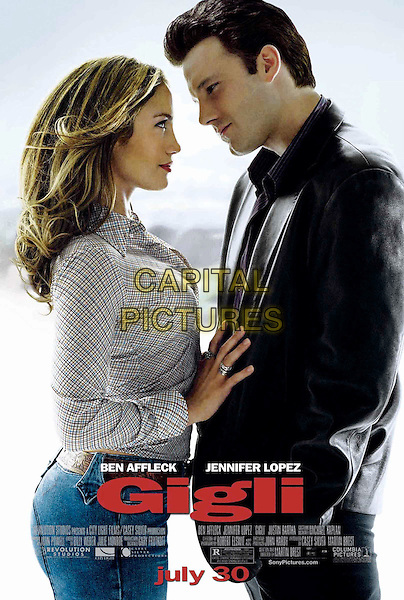 POSTER ART.Gigli.Filmstill - Editorial Use Only.CAP/AWFF.www.capitalpictures.com.supplied by Capital Pictures.
