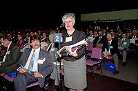 Montreal (qc) CANADA - file Photo - 1992 - <br /> <br /> <br /> 'Union des Municipalites du Quebec convention in April - Andree Boucher, Mayor Sainte-Foy