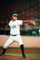 Rick Guttormson of the Rancho Cucamonga Quakes during a California League baseball game at The Epicenter circa 1999 in Rancho Cucamonga,CA. (Larry Goren/Four Seam Images)