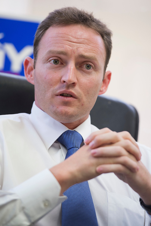 UNITED STATES - AUGUST 23:  Patrick Murphy, democratic candidate in Florida's 18th District, is interviewed by Roll Call in his Palm Beach Gardens, Fla., office.  Murphy is running against Rep. Allen West, R-Fla.(Photo By Tom Williams/CQ Roll Call)