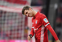 Fussball  1. Bundesliga  Saison 2016/2017  14. Spieltag  FC Bayern Muenchen - VfL Wolfsburg    10.12.2016 Thomas Mueller (FC Bayern Muenchen)