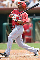 McDonald, Darnell 7233.jpg. Spring Training. Cincinnati Reds at Houston Astros. Spring Training Game. Friday March 20th, 2009 in Kissimmee., Florida. Photo by Andrew Woolley.