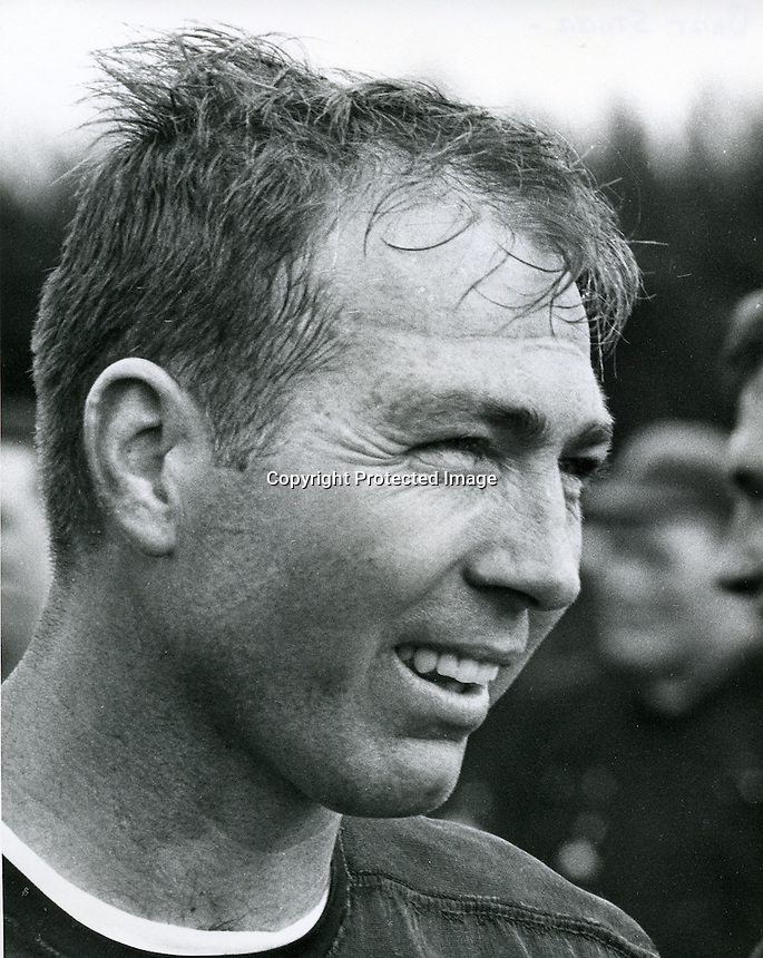 Green Bay Packers quarterback Bart Starr. <br />