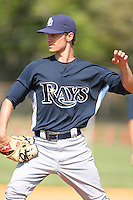March 19th 2008:  Jon Barratt of the Tampa Bay Devil Rays minor league system during Spring Training at the Raymond A. Naimoli Complex in St. Petersburg, FL.  Photo by:  Mike Janes/Four Seam Images