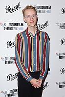 Charlie Lyne<br /> arriving for the London Film Festival Awards, Vue Leicester Square, London<br /> <br /> ©Ash Knotek  D3452  20/10/2018