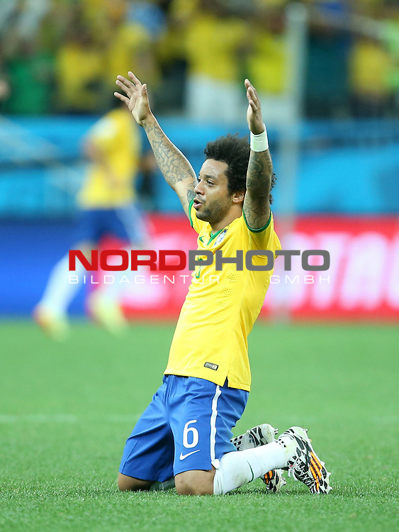 2014 Fifa World Cup opening game from group A against Brazil and Croatia.<br /> Marcelo<br /> <br /> Foto &copy;  nph / PIXSELL / Sajin Strukic