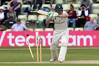 Ben Cox of Worcestershire is bowled out by Peter Siddle during Worcestershire CCC vs Essex CCC, Specsavers County Championship Division 1 Cricket at Blackfinch New Road on 12th May 2018