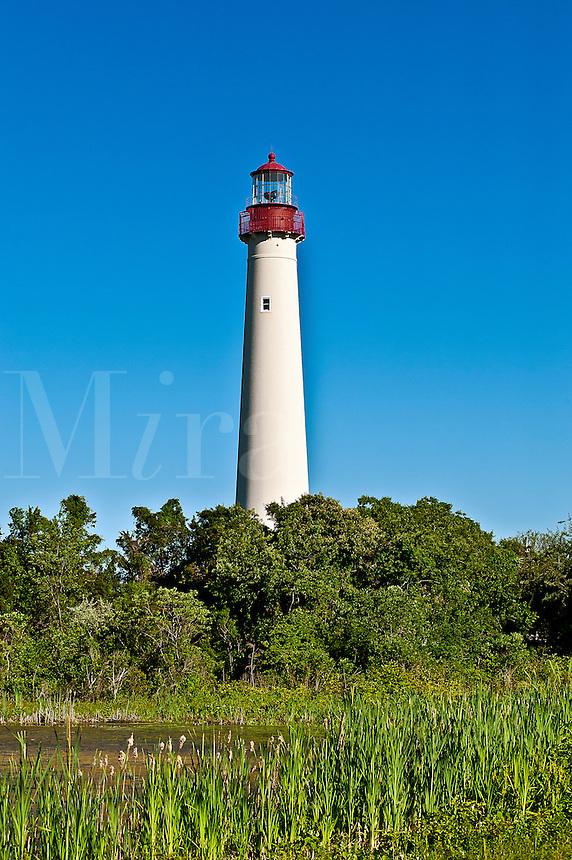 Cape May lighthouse, Cape May,  New  Jersey, NJ, USA