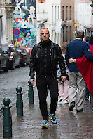 Eros Ramazzotti enjoys some free time in Brussels, before attending the 27th edition of the Télévie