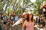 Chantelle and Phiamma at the Oregon Country Fair
