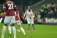 Naby Keita of Liverpool during West Ham United vs Liverpool, Premier League Football at The London Stadium on 4th February 2019