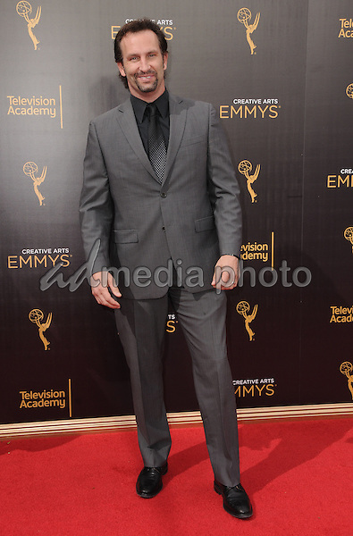 11 September 2016 - Los Angeles, California. Kevin Sizemore. 2016 Creative Arts Emmy Awards - Day 2 held at Microsoft Theater. Photo Credit: Birdie Thompson/AdMedia