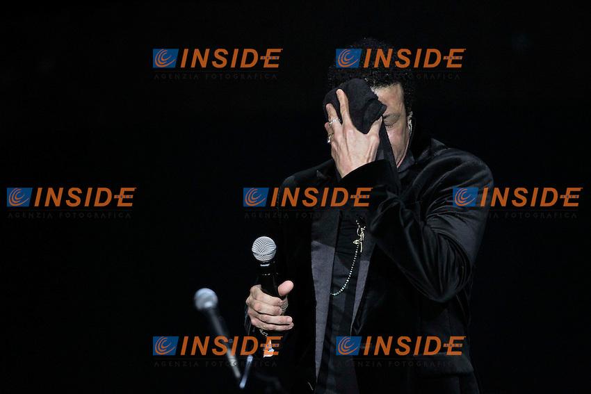 Lionel Richie in concerto.Parigi 28/11/2012 Zenith.Il cantante presenta il suo nuovo album ' Tuskegee ' .Foto Stephane Allaman / Panoramic / Insidefoto.ITALY ONLY
