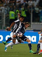 Tomas Rincon  and Lucas Biglia   during the Italian Cup Final  football match between Juventus FC and SS Lazio at  the Olympic stadium in Rome, Italy on the 17th May 2017