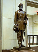 Statue of General Edmund Kirby Smith, CSA, that is part of the National Statuary Hall Collection in the United States Capitol in Washington, DC on Thursday, August 31, 2017.   The statue of General Smith was given to the Collection by the State of Florida in 1922. The collection is comprised of 100 statues, two from each state.  Of those, twelve depict Confederate leaders.  The statues have become controversial and there have been calls for their removal from the US Capitol.<br /> Credit: Ron Sachs / CNP /MediaPunch