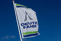 Deutz Fahr flag<br /> &copy;Tim Scrivener Photographer 07850 303986<br /> ....Covering Agriculture In The UK....