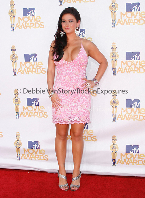 Jenni JWow Farley at the 2010 MTV Movie Awards held at The Gibson Ampitheatre in Universal City, California on June 06,2010                                                                               © 2010 Debbie VanStory / Hollywood Press Agency