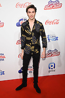 George Shelley<br /> at the Jingle Bell Ball 2016, O2 Arena, Greenwich, London.<br /> <br /> <br /> &copy;Ash Knotek  D3208  03/12/2016