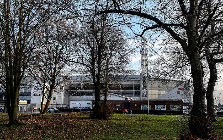 General View of Deepdale Stadium - Preston<br /> <br /> Photographer Rachel Holborn/CameraSport<br /> <br /> The EFL Sky Bet Championship - Preston North End v Blackburn Rovers - Saturday 24th November 2018 - Deepdale Stadium - Preston<br /> <br /> World Copyright © 2018 CameraSport. All rights reserved. 43 Linden Ave. Countesthorpe. Leicester. England. LE8 5PG - Tel: +44 (0) 116 277 4147 - admin@camerasport.com - www.camerasport.com