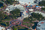 Aerial view of Walt Disney World, Orlando Florida