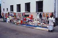 Street market  in Belize City, Belize