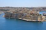 Safe Haven gardens, Senglea Point in Grand Harbour,  Valletta, Malta