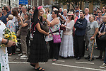 Italian community, annual procession starting from the Italian Church Saint St Peters London. 2018.