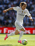 Real Madrid's Luka Modric during La Liga match. September 19,2015. (ALTERPHOTOS/Acero)