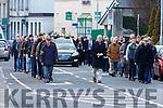 Funeral of John Dalton, member of famous '5 in a row' John Mitchels GAA.