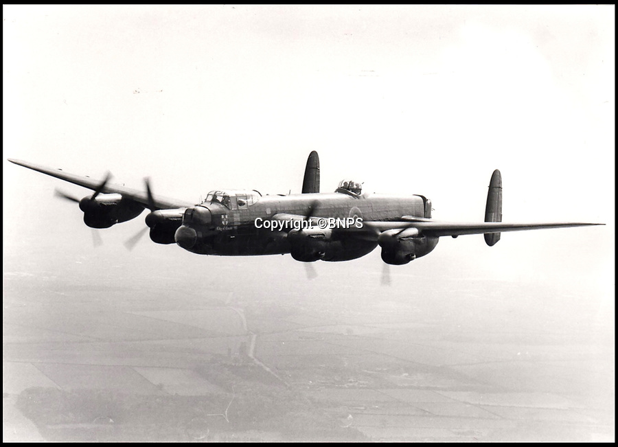 BNPS.co.uk (01202 558833)<br /> Pic:   BNPS<br /> <br /> Image depicting a bomber aircraft in flight.<br /> <br /> The wartime medals awarded to the man who masterminded the Dambusters Raid and the sinking of a fearsome German battleship have emerged for sale.Air Chief Marshal Sir Ralph 'Cocky' Cochrane planned in minute detail the audacious RAF operation to destroy three German dams using inventor Sir Barnes Wallis' 'bouncing bomb' in 1943.A year later he came up with the idea of how to bomb the formidable Nazi battleship the Tirpitz - while sat in his bath.His medals are being sold for £8,000 at a London auction.