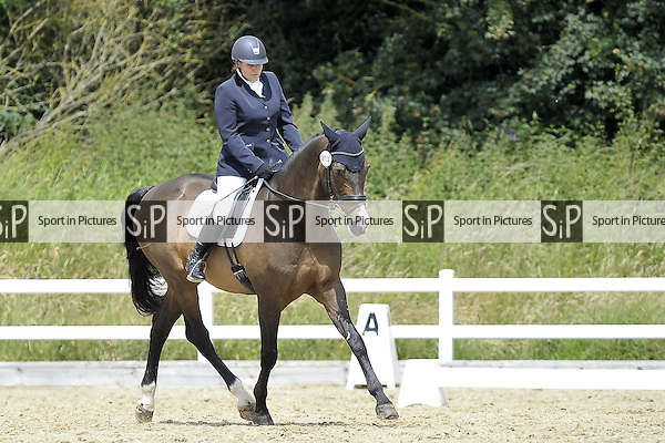 Class 3. British Dressage (BD). Brook Farm Training Centre. Essex. 24/06/2016. MANDATORY Credit Garry Bowden/Sportinpictures - NO UNAUTHORISED USE - 07837 394578