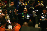 NEW YORK - MAY 05, 2006:  Coffee traders work the coffee futures pit at the New York Board of Trade on May 5, 2006 in New York City.  (Photo by Michael Nagle).