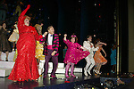 Harvey Fierstein, Marissa Jaret Winokur, Dick Latessa, Matthew Morrison and the Cast <br />( Curtin Call )<br />HAIRSPRAY The Broadway Musical<br />Opening Night at the Neil Simon Theatre<br />Party at Roseland<br />New York City<br />August 15,2002