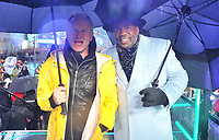 "NEW YORK - DECEMBER 31: Steve Harvey and Sting on ""FOX'S New Years Eve with Steve Harvey: Live From Times Square"" on December 31, 2018 in New York City. (Photo by Stephen Smith/Fox/PictureGroup)"