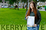Sasha Godley from Tarbert received her Leaving Cert results and got 602 points, 5 H1, 1 H2 and 1 H3 and is waiting for an offer to study Bio Medicine in NUI Galway