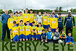 We Won<br /> -----------<br /> Killorglin FC U14 team celebrate their victory over Killarney Celtic to win the Tom Hayes Cup when the sides met at Mounthawk Park, Tralee last Saturday.