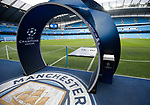 Champions league branding ready for the Champions League Group F match at the Emirates Stadium, Manchester. Picture date: September 26th 2017. Picture credit should read: Andrew Yates/Sportimage