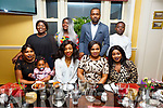 Comforc Nemmanuel from Tralee celebrating her birthday in the Brogue Inn on Saturday night. Seated l to r: Fishanie Kumwenda, Ayanda Moyo, Solange Diogo, Comforc Nemmanuel and Routh Igboroein.<br /> Back l to r: Eunice Amtwibanh, Elomofe Ikuyinminu, Nathaniel Ahamefula and Johnson Chineye.