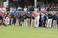 Patrick Reed (USA) on the 10th fairway during the First Round - Four Ball of the Presidents Cup 2019, Royal Melbourne Golf Club, Melbourne, Victoria, Australia. 12/12/2019.<br /> Picture Thos Caffrey / Golffile.ie<br /> <br /> All photo usage must carry mandatory copyright credit (© Golffile | Thos Caffrey)