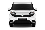Car photography straight front view of a 2016 Fiat Doblo Pack 4 Door Cargo Van