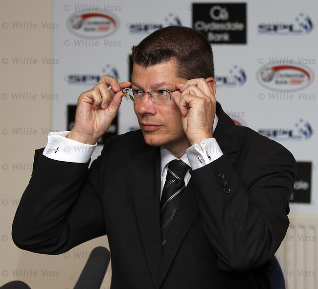 Neil Doncaster outlines the new sporting sanctions passed by the SPL today