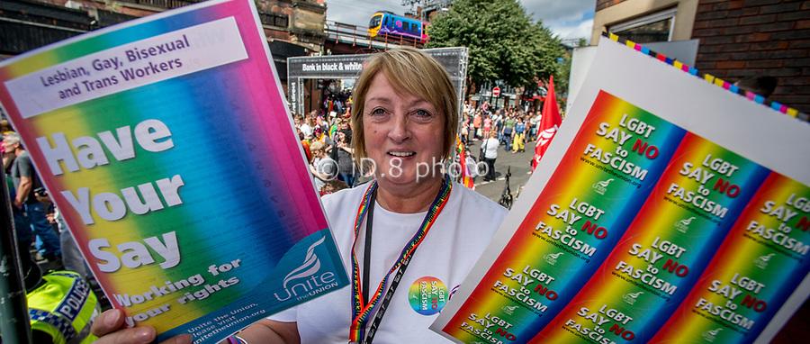 Sue Pollard, women's & equalities organiser NEYH.