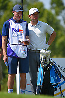 Paul Casey (GBR) looks over his tee shot on 9 during round 3 of the WGC FedEx St. Jude Invitational, TPC Southwind, Memphis, Tennessee, USA. 7/27/2019.<br /> Picture Ken Murray / Golffile.ie<br /> <br /> All photo usage must carry mandatory copyright credit (© Golffile | Ken Murray)