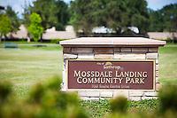 Mossdale Landing Community Park Signage