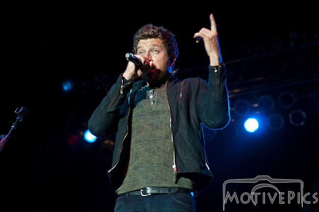 Brett Eldredge playing at Black Diamond Harley Davidson on 9/19/2014.