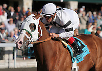 Will Take Charge and Jon Court win the 7th race Maiden $50,000 for 2 year old colts.   October 18, 2012.