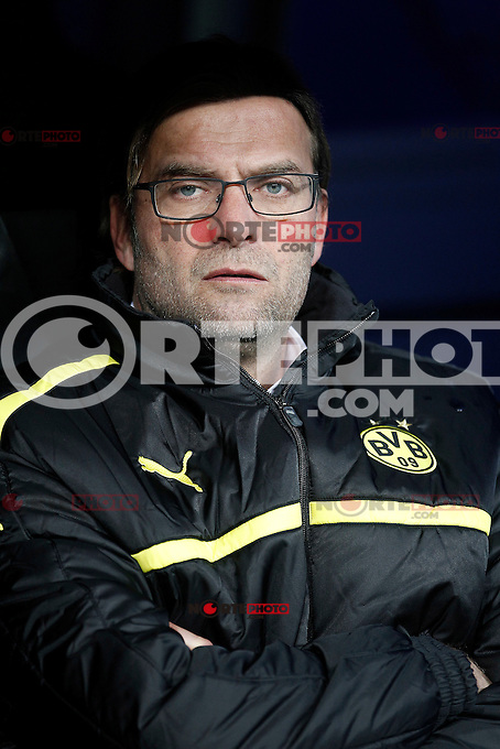 Borusia Dortmund's coach Jurgen Klopp during Champions League 2012/2013 match.November 6,2012. (ALTERPHOTOS/Acero)
