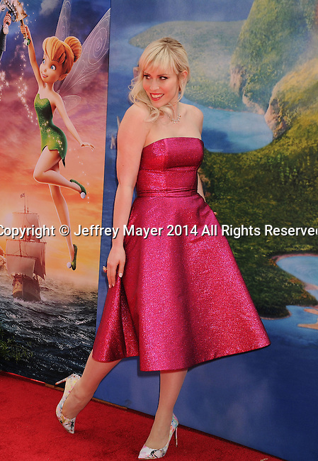 BURBANK, CA- MARCH 22: Recording artist Natasha Bedingfield attends the premiere of DisneyToon Studios' 'The Pirate Fairy' at Walt Disney Studios on March 22, 2014 in Burbank, California.