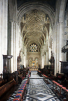 Oxford: Christ Church Cathedral--both College Chapel and Cathedral of University.